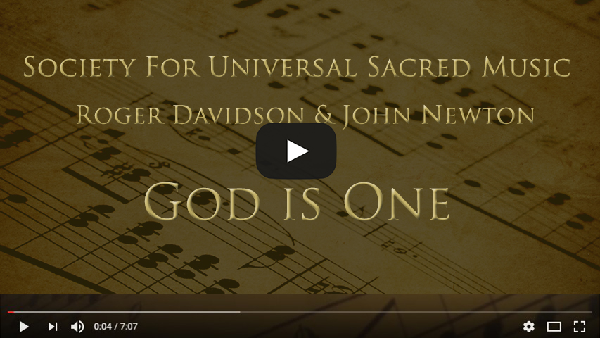 God is One By Roger Davidson